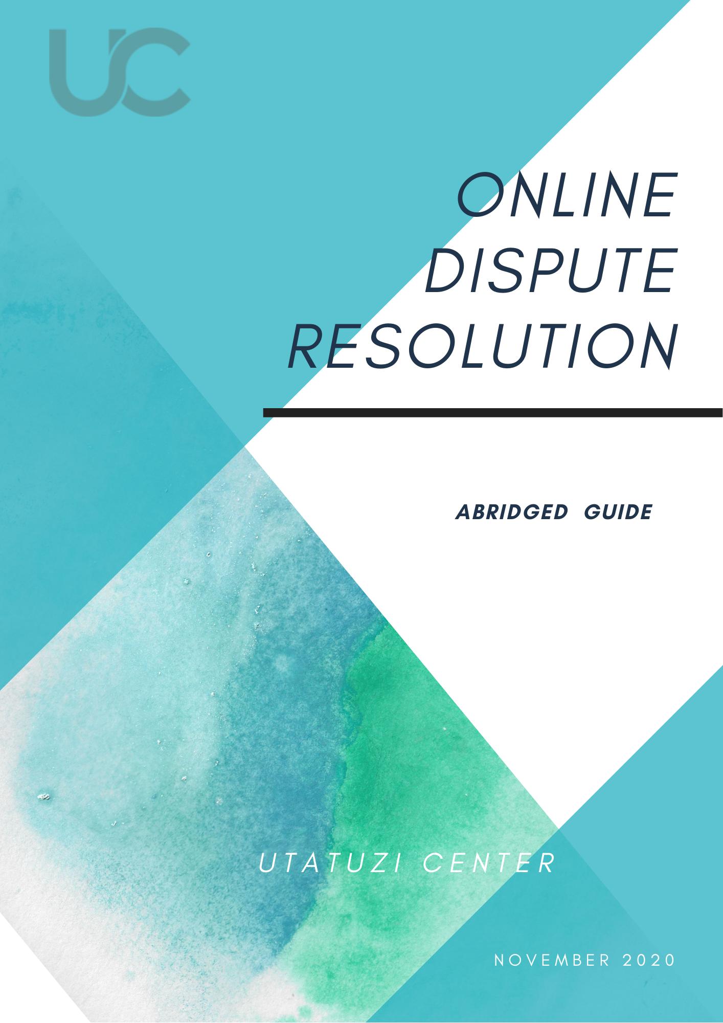 Online Dispute Resolution Guide
