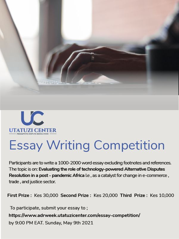 Win Handsomely In Uc Essay Writing Competition